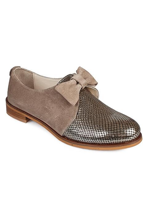 Matraş Ayakkabı Bej